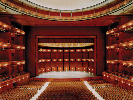 boston opera house balcony Our Spaces NJPAC